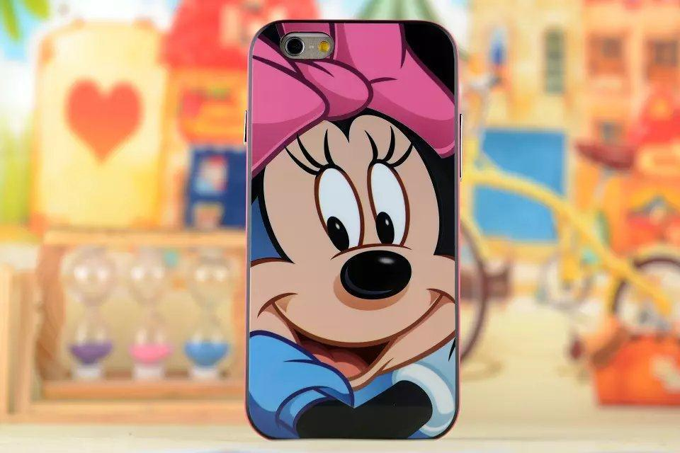3D Lovely Cartoon Animal Mickey Minnie Kitty Bumblebee Monkey Elephant Zebra Case For iphone5 5s 6 6plus Gel Cover(China (Mainland))