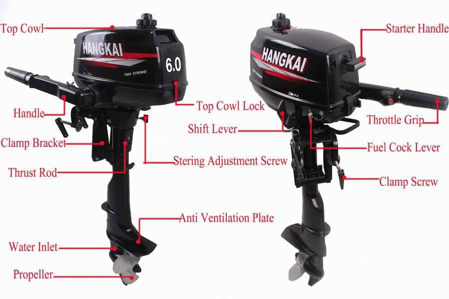 Factory Price Promotion Hot Brand New Hangkai Outboard