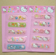 5pcs/set Hello Cat Waterproof Band-aid Plaster Adhesive bandage sticker for kids baby care outdoor Traveling essential