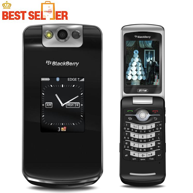 "100% Original Blackberry 8220 Pearl Flip Mobile Phone 2.6"" TFT Screen 2.0MP Camera GSM WIFI Unlocked Factory Refurbished(China (Mainland))"