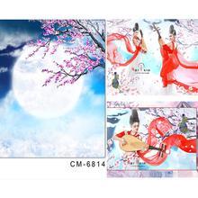 photo studio backdrop baby Moon Peach Cloud estudio fotografico 5x7ft(150x220cm)