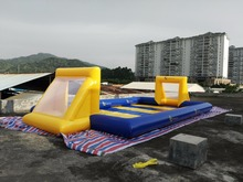 Manufacturer ! Cheap price ! Portable inflatable soccer field,inflatable football court,inflatable football field for sale(China (Mainland))
