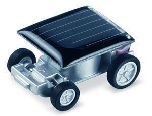 Free Shipping The World's Smallest Mini Solar Power Toy Car Racer 100 pcs/Lot(China (Mainland))