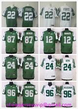 Sale Stitched 2016 New York Jets Matt Forte Ryan Fitzpatrick Brandon Marshall Eric Decker Darrelle Revis Muhammad Wilkerson()