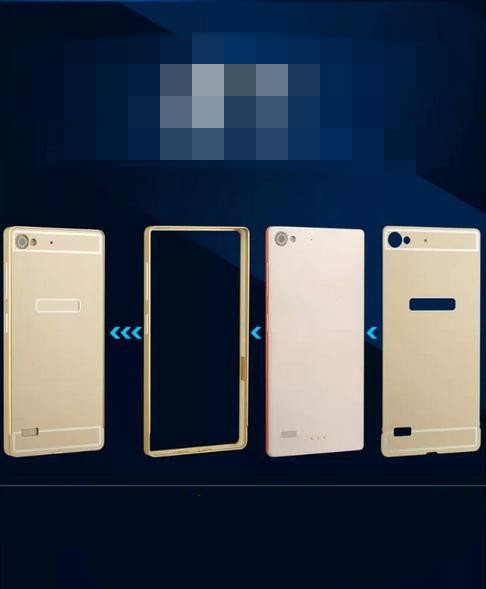 Luxury Case For Lenovo VIBE X2 Aluminum Metal Frame + PC Brush Back 2in1 Cover Cases Cover For Lenovo X2 Free shipping(China (Mainland))