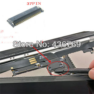 LCD FPC connector for iPad 3 4 LCD display screen FPC on Logic motherboard mian board  Free Shipping