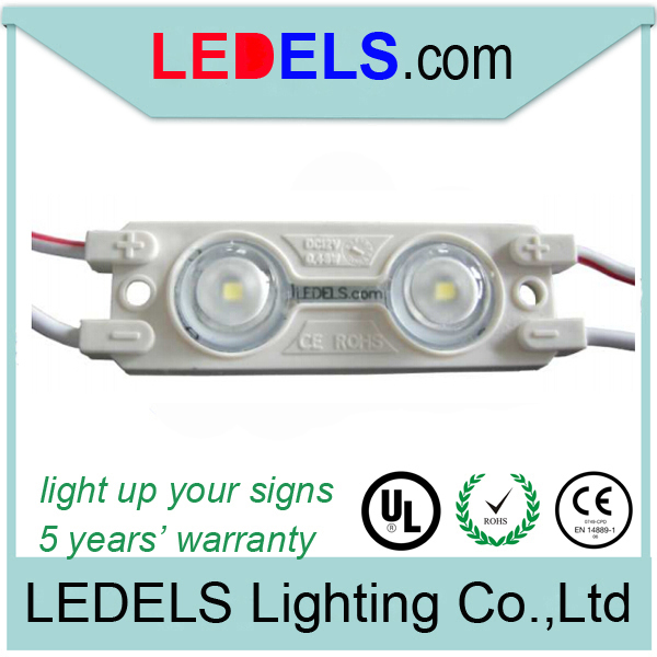 5 years warranty,0.72w led module 12v 44lm Everlight 2835 module led for channel letter<br><br>Aliexpress