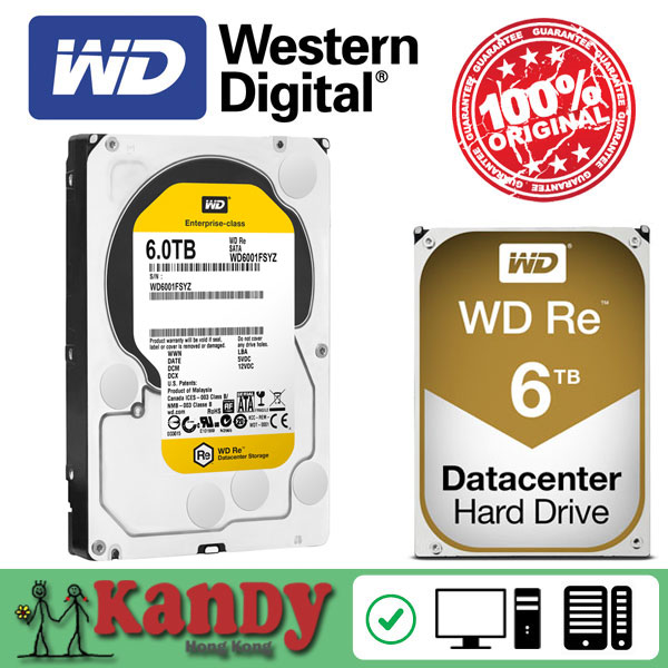Western Digital WD RE 6TB hdd sata 3.5 disco duro interno internal hard disk harddisk hard drive disque dur desktop hdd server(China (Mainland))