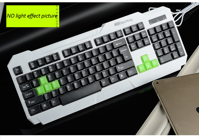 Lighted Computer Keyboard Best illuminated Keyboard for Laptop PC Notebook Keyboard Games(China (Mainland))