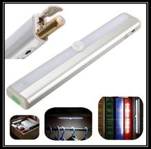 Led cabinet light sensor 10led smd PIR Infrared Human Body Sensor Lamp for Corridor Drawer Cabinet Kitchen Living Room(China (Mainland))