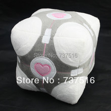 6 inch Video platform game Portal 2 Weighted Companion Cube PLUSH doll toy NECA(China (Mainland))