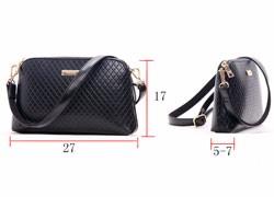 Trendy Quilted Bag Women Classy Shell Shoulder Bag Classic Diamond Lattice Beige Shoulder Bag Ladies Plaid PU Crossbody Bag