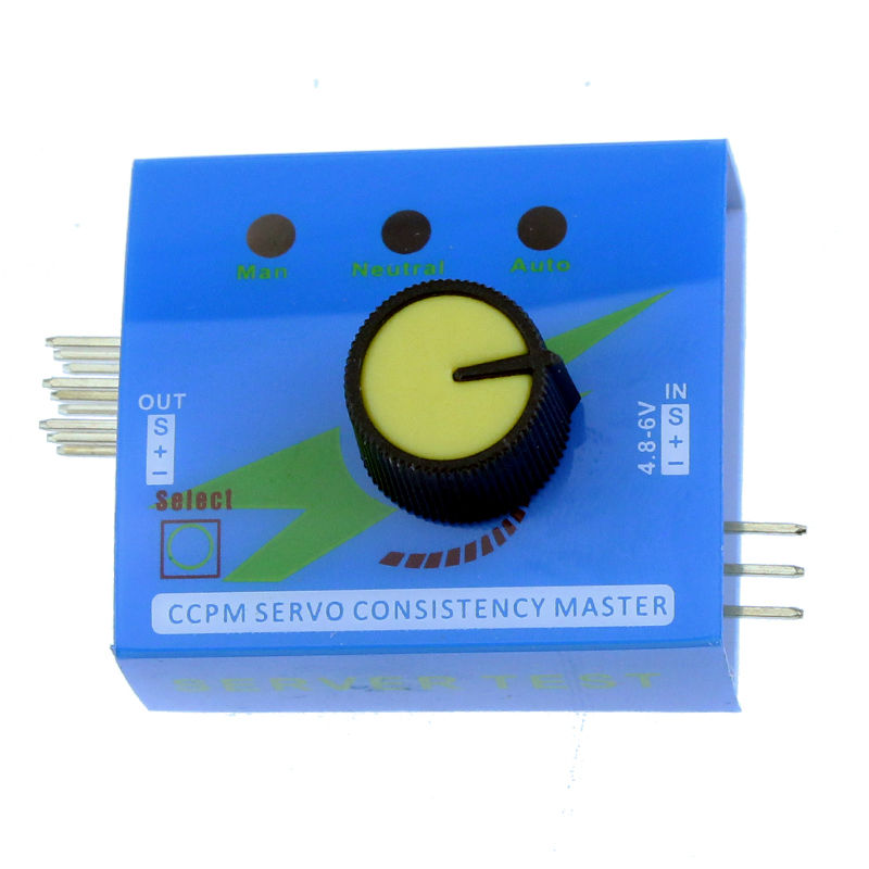 Multi Servo Tester 3CH ECS Consistency Speed Controller Power Channels CCPM Meter(China (Mainland))