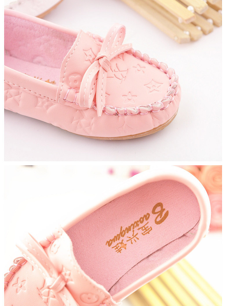 Size 21-30 PU Leather Children's Shoes Baby Girls Breathable Slip-On Fashion Casual Sneakers Kids Unisex Rubber Soles Shoes