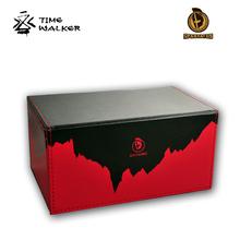 Tw Sparta tarjetas caja de colección caja de cuero de la impresión del folio case para MTG / Yu-Gi-OH / cromos sostener 180 tarjetas(China (Mainland))