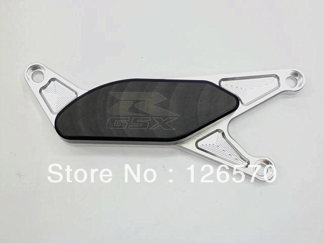 Motorcycle Silver Engine Stator Cover Slider for 2004-2005 Suzuki GSXR 600 750 2003-2008 GSXR 1000