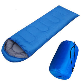 Sleeping Bag Outdoor Camping Hooded Multicolor