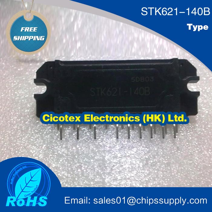 Free Shipping STK621-140B 3-phase Inverter Motor Drive Inverter Hybrid IC(China (Mainland))