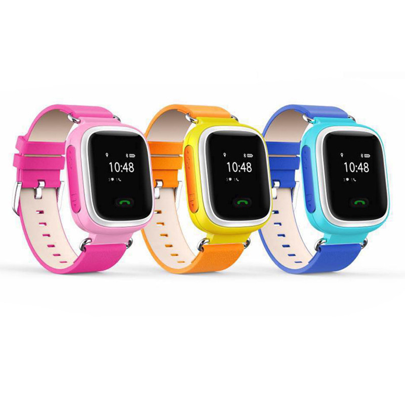 GPS WiFi LBS Tracker Kids Smart q60 WristWatch for GPS Safe Anti Lost with Two Way Communication SOS Alarms for Children Locator