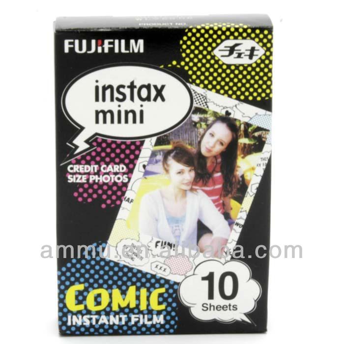Free shipping Fujifilm Instax Mini Film Comic 10pcs Polaroid Photo Paper for Fuji Instant Camera 7 7s 8 25 50(Hong Kong)