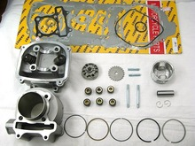 Scooter 150cc 57.4mm GY6 Engine Rebuild Kit Cylinder Kit Cylinder Head Chinese Scooter