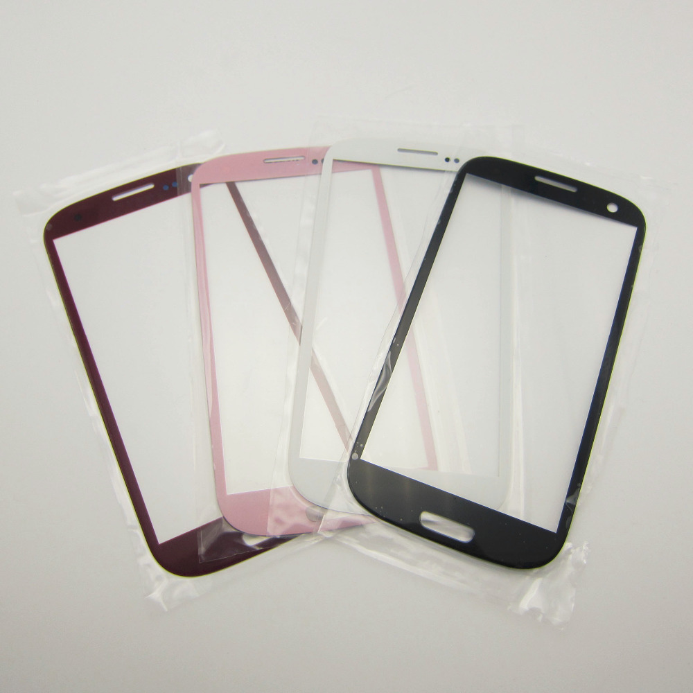 12 pcs/dozen Lcd Screen Digitizer Replacement Front Glass For Samsung galaxy S3 i9300 Mobile Phone Touch Panel Parts Outer Lens(China (Mainland))