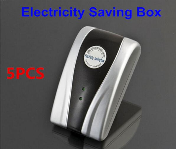 5PCS Energy Saver,province electricity,uk Plug/US Plug/EU Plug,90V-240V,Free Shipping!New Type Power Electricity Saving Box(China (Mainland))
