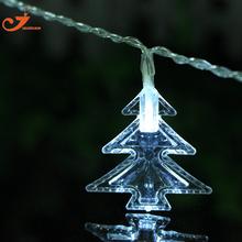 Дерево строка огни фея led Christmas light главная сад белые огни санта батарейках партии 3 В AA крытый фары дешевые