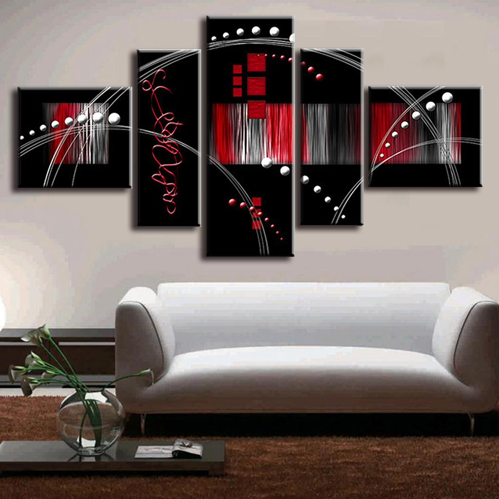 Buy 5 pictures set quadros de parede canvas paint for Cuadros de decoracion