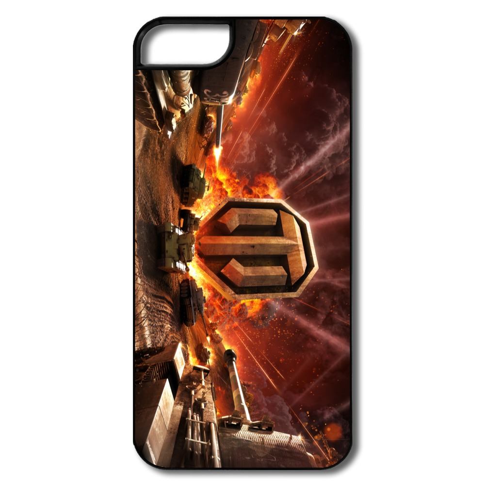 Vintage Custom Case For Iphone 5 World of Tanks Online Custom Own 5s Cases Low Price(China (Mainland))