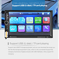Cimiva 7 inch Bluetooth Vehicle Auto Car MP5 MP4 MP3 Video Player In Touch Screen Support