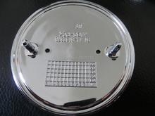 1 pz 82mm/73mm nero/bianco anteriore/boot posteriore badge hood tronco logo car emblem  Per auto bmw e46 e39 e38 e90 e60 z3 z4 51148132375(China (Mainland))