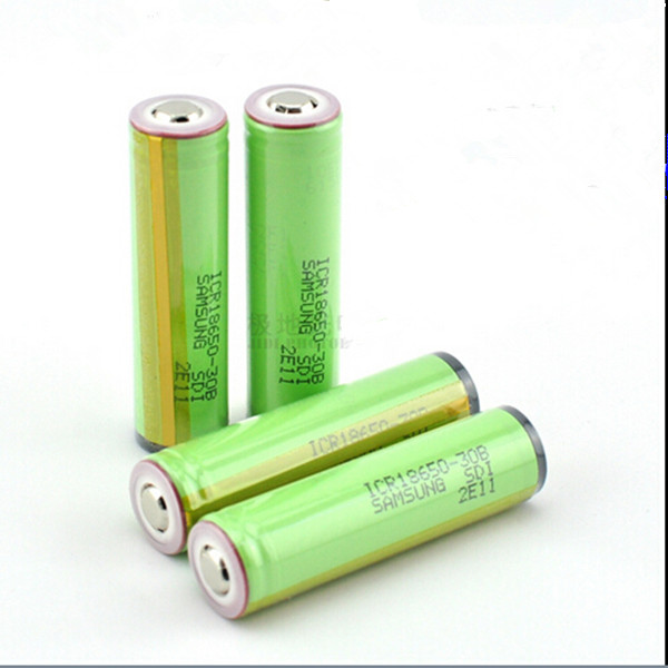 4PCS/lot 18650 original samsung 3000mAh ICR18650-30B li-ion 18650 protected rechargeable battery with PCB protected battery(China (Mainland))