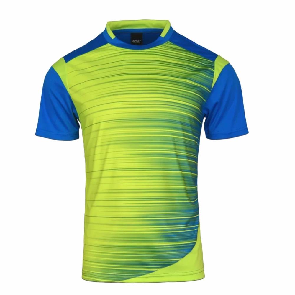 Mens Football Jerseys Shirt Boys Soccer Training Shirts Jerseys Teens Breathable Custom Football Jerseys Sports Wears M-3XL(China (Mainland))