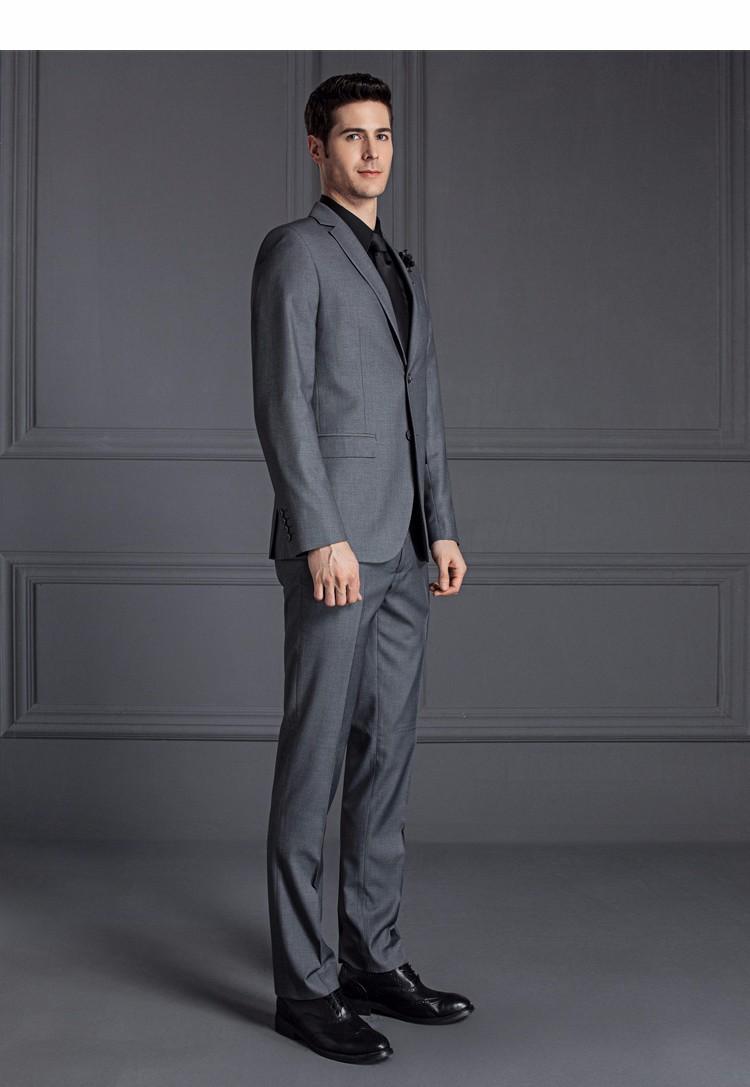 HTB1jKoYOVXXXXXwaVXXq6xXFXXXJ - 2017 Men Business Suit Slim fit Classic Male Suits Blazers Luxury Suit Men Two Buttons 2 Pieces(Suit jacket+pants)