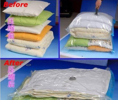 Factory Price, Home Travel Organizer Bags Space Saver Saving Seal Vacuum Clothing Storage Vaccum Compressed Bag New(China (Mainland))