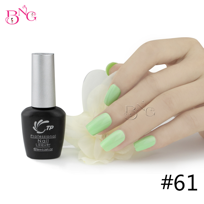 TP Brand NO.61 10seconds Speed Cure Nail Gel Polish 8ml Long Lasting Soak-Off UV Gel Varnishes Nails Beauty Manicure Tools(China (Mainland))