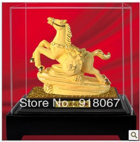 M1011 supernova sales Free shipping Arrival Gold craft Home & Garden/home Decor/animal Crafts/horse figurine/Horses Statue(China (Mainland))
