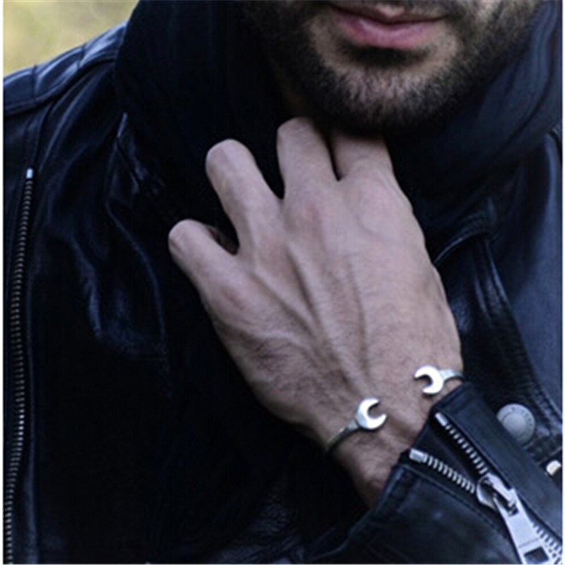 New style fashion  rouille vintage motorcycle double slider wrench honey lovers Man girl bracelets Free shipping<br><br>Aliexpress