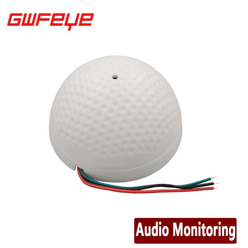 GWFEYE Mini AUDIO CCTV Microphone MIC For Security DVR Cameras Audio Monitor Sound pickup Head Low Noise(China (Mainland))
