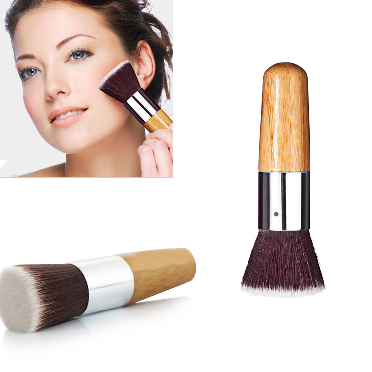 1 PCS New Cosmetic Tool Makeup Brush Flat top Foundation Powder Brush Kabuki Single Makeup Brush
