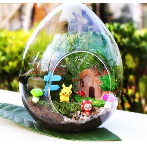 2015 Hot Sale Rushed Crafts Decoden Cabochon 3x Wooden Signs Indicate Mini Garden Micro Dollhouse Pot Bonsai Terrarium Al3317(China (Mainland))
