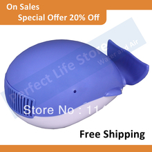 Whale Auto Car Fresh Air Purifier Ozone and Ionizer Oxygen bar Free Shipping(China (Mainland))