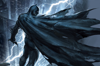 Room Decor batman the dark knight returns DIY poster