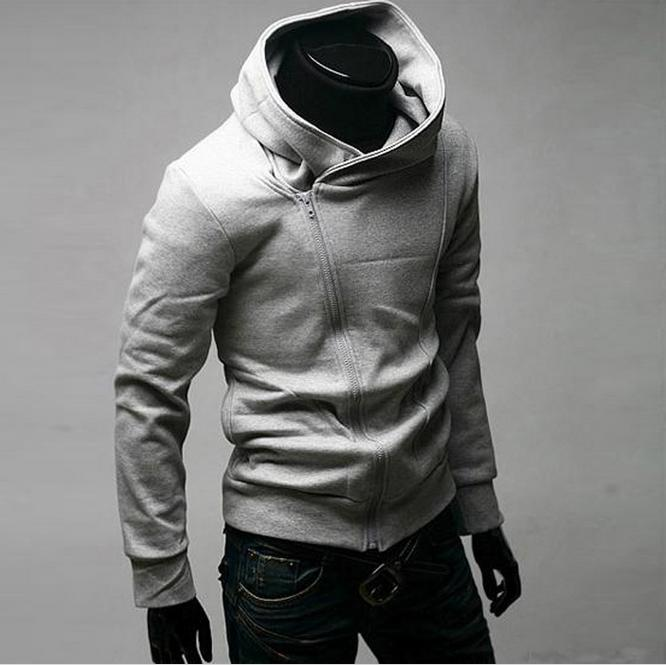 5 Colors High Collar Hoodies Jacket Men & Women Hoodies Dust Coat  Clothes Sweatshirts Overcoat Outwear(China (Mainland))