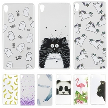 Buy Sony Xperia E5 Case Lovely Animal Cat Unicorn Transparent Silicon Soft TPU Back Phone Cover sFor Sony Xperia E 5 F3313 F3311 for $1.34 in AliExpress store