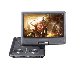 New 9 inch DVD Player TFT Screen Display Portable DVD EVD Player TV VCD CD MP3/4 USB GAME Mobile TV For EU Socket Plug(China (Mainland))