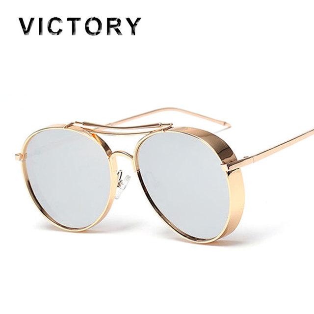 Высокое качество 2016 пилот крупногабаритные солнечные очки людей женщин большой ...