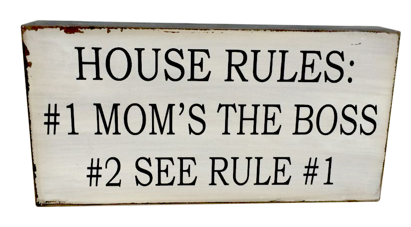 FREE SHIPPING-HOT SALE very popular home decorative 30*15cm Vintage wording wooden sign with saying,house rules(China (Mainland))