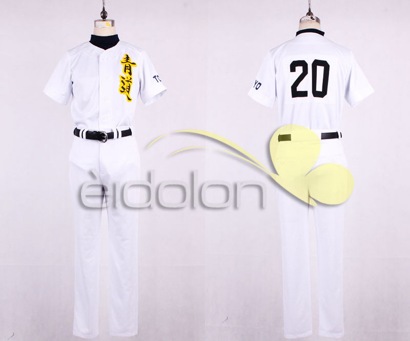 Ace of Diamond Daiya no Ace Sawamura Eijun Baseball suit sports Cosplay Costume Halloween costumeОдежда и ак�е��уары<br><br><br>Aliexpress